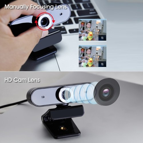 Videocamera USB GL68 HD Webcam Video Chat Registrazione