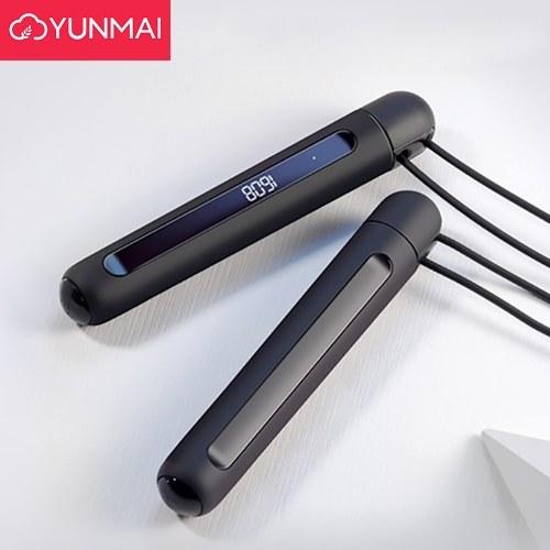 YUNMAI Smart Training Pular Corda Fitness Queima de gordura BT Contagem Corda pular de 3 metros para crianças adultas