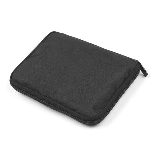 BUBM Electronic Organizer Water-Resistant Padded Nylon Travel Cable Organizer USB Flash Drive Case Gadget Bag