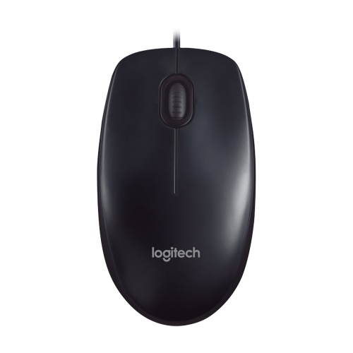 Logitech M90 Corded Mouse Universal Office Classroom Mouse