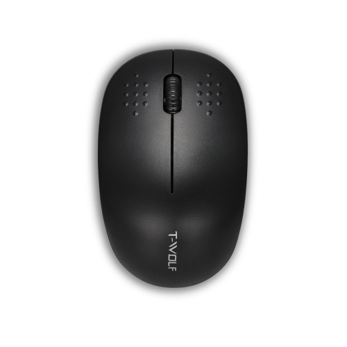 T-WOLF Wireless Computer Mouse 2.4G Portable Mini Computer Mice with Nano Receiver for PC Tablet Laptop Macbook Compatible with Windows/IBM System Office Working Business