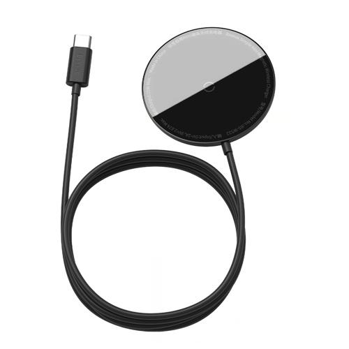 Cargador inalámbrico magnético Baseus 15W Max Base de carga inalámbrica rápida Compatible con iPhone 12/12 Mini / 12 Pro Max BS-W522