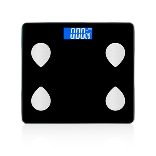 Smart Body Fat Scale BT Connection Accurate Smart Electronic Body Scale Multiple Health Data Smart APP Glass LCD Digital Display Fitness Scale for Health Measurement