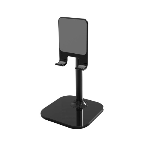 B026 Portable Phone Desktop Stand Holder Height Angle Adjustable Tablet Holder Aluminum Alloy Compatible with All iPhone Smart Cell Phone Tablet iPad for Bed