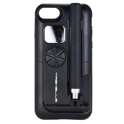 TASHELLS Портативный беспроводной телефон Selfie Stick для iPhone 7/8 Складной телефон Shell Selfie Stick 2 в 1