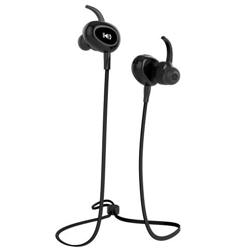 Fozento FT6 Sport Écouteur Écouteur intra-auriculaire stéréo BT Casque casque écouteur mains libres Paire / Off / On Recevoir / accrocher musique Lecture / Pause Volume +/- pour iPhone 7 Plus Samsung S8