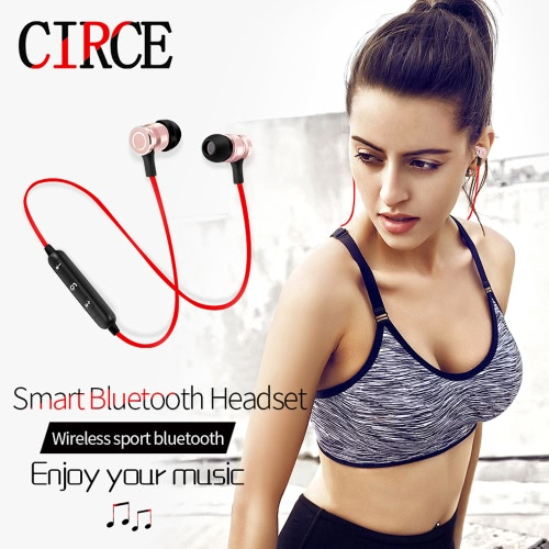 S6-6 Wireless Headset HD Stereo Sound BT 4.1 Earphone Headphones Earphone Sport BT Headphone for iPhone Android thumbnail