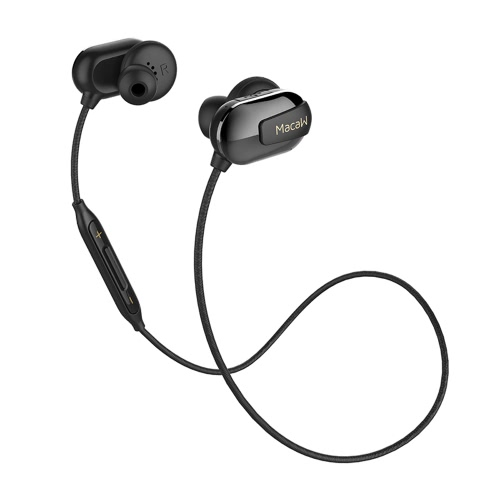 Macaw T50スポーツイヤホンインイヤーワイヤレスステレオBT4.1ハンズフリーペア/オフ/オン受信/音楽の再生/一時停止音量+/- for iPhone 7 Plus Samsung S8 +
