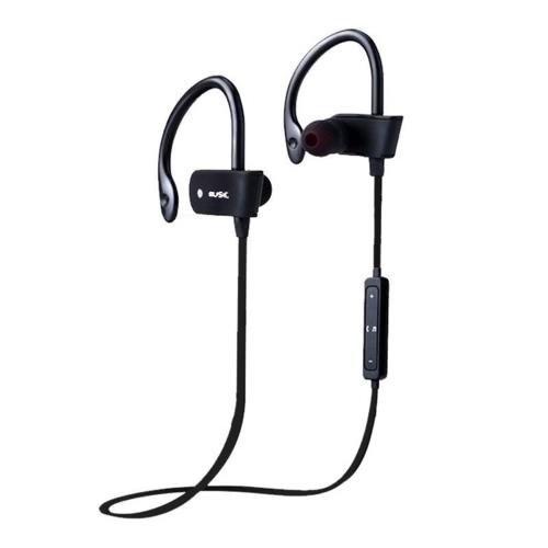 H2ビジネススポーツイヤホンインイヤーワイヤレスステレオBT4.1ヘッドフォンヘッドセットハンズフリーペア/オフ/オン受信/ハング音楽再生/一時停止音量+/- for iPhone X Samsung S8 + Note8