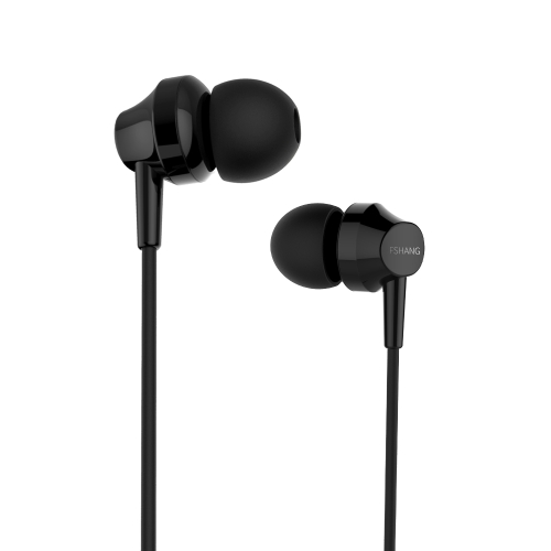 FSHANG A2 Mini Bass Bonitão Ear Earphone Microfone 3.5mm Earphones Audifonos Airpods Ear Phone Earbuds Música com Mic para Smartphones