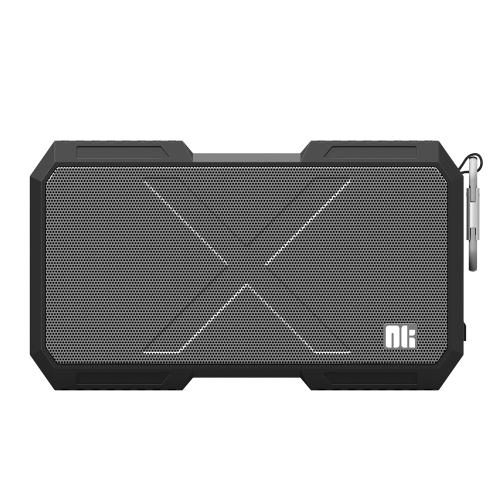 NILLKIN X-MAN Haut-parleur BT IPX4 Imperméable à l'eau Répondeur mains-libres Voyant LED BT CSR4.0 5200mAh Autonomie de la batterie longue durée Cavité indépendante Design Haut-parleur sans fil Hi-Fi
