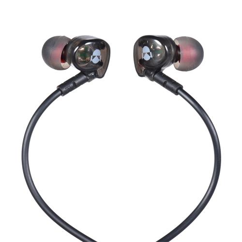 FSHANG Q8 3.5mm fone de ouvido com fone de ouvido portátil auscultadores estéreo de esportes auscultadores auriculares de corrida mãos livres com microfone para iPhone 6 Samsung S8 + Nota 8