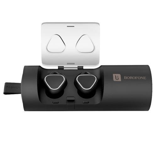 BOROFONE T7 BT Écouteur avec 500mAh Earbud Puissance Banque BT 4.2 Sans Fil Casque Conception Ergonomique Haute Qualité sonore Sport Intra-auriculaires pour iPhone X Samsung Huawei Smartphone