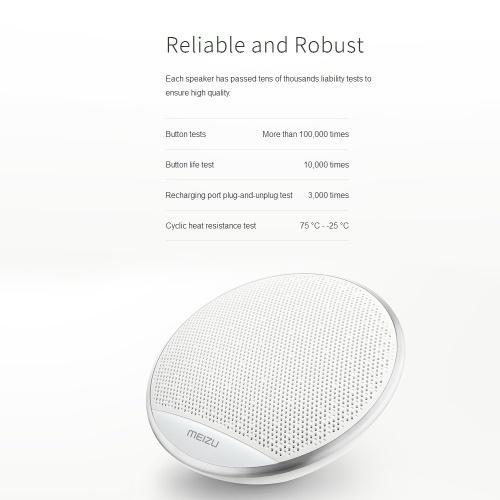 b6c6fbfc1b6 Meizu A20 Wireless BT 4.2 Portable Stereo Outdoor Bass Mini Speakers 15  Hours Handsfree Amplifier Sound