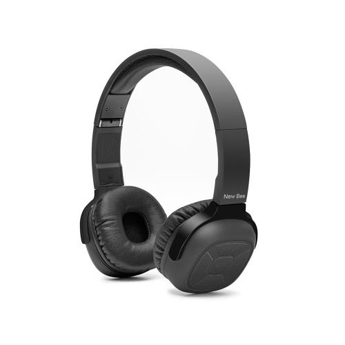 新しいビーNB  -  6ワイヤレスBluetoothヘッドフォンスマートスポーツステレオヘッドセットとマイクNFCイヤホンアクティブノイズは、電話PCのテレビのためのイヤホンをキャンセル