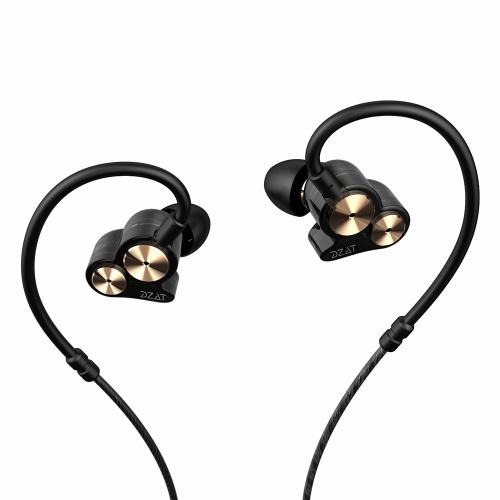 DZAT DT-05 In-Ear-Ohrhörer 3,5-mm-Sportmusik-Stereo-Bass-Kopfhörer
