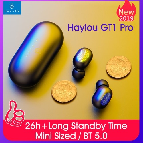 Haylou GT1 Pro Ture Wireless Stereo Wireless Earphones Fingerprint Touch Earbuds