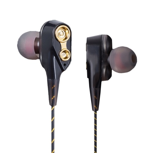 Dual Moving Coils In-Ear Earphones