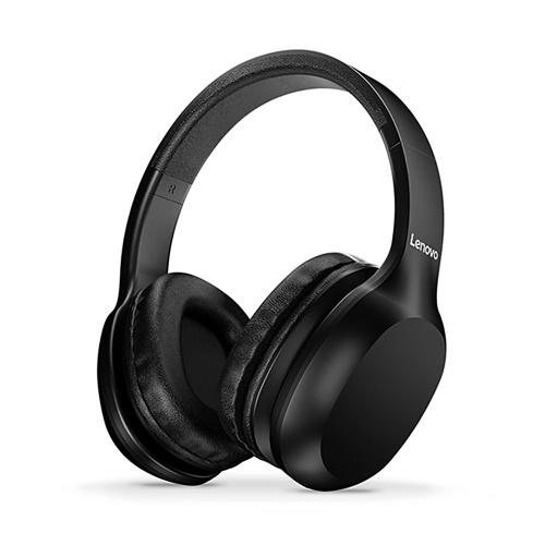 Lenovo HD100 Headphones Over Ear Earphones 3.5mm Stereo Music Headset