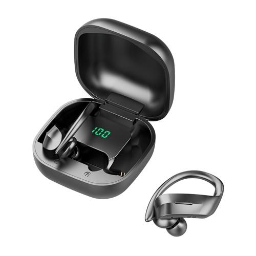 Drahtlose Ohrhörer BT 5.0-Kopfhörer TWS-Stereo-Kopfhörer mit Mikrofon-Touch-Steuerung Dual Host Host Noise Cancelling-Technologie IPX5 Wasserdichte Sportkopfhörer für Sportgymnastik-Musik M8