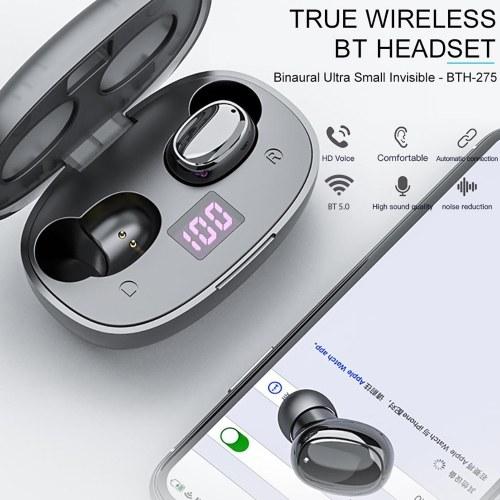 BTH-275 True Wireless Stereo Earbuds BT 5.0 Headphones