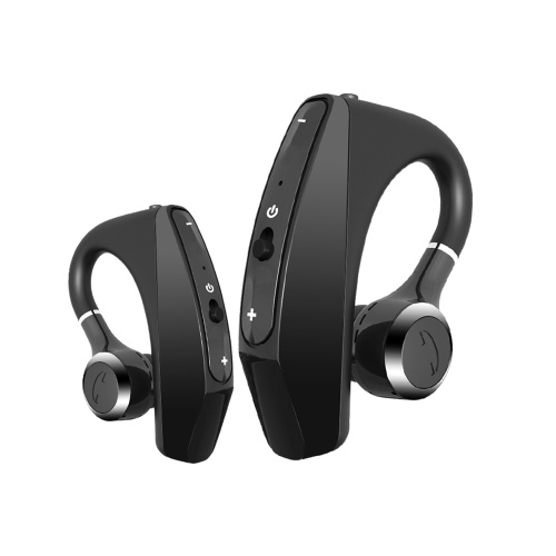 PT520 TWS Earphones BT 5.0 Headphones True Wireless Earbuds with Button Control Hands-Free Call HiFi Stereo Sound Noise Canceling IPX5 Waterproof Binaural Design Headsets with MIC for Gaming Sports Music Compatible with iOS Android