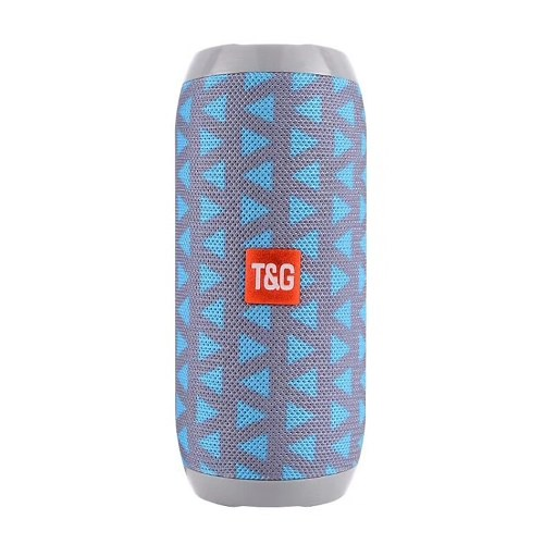 TG117 BT Wireless Speaker Built-in 1200mAh Rechargeable Lithium Battery BT Player TF Card Player USB Charging AUX Input MP3 Stereo Sound Deep Bass Portable Speaker For Home Outdoor