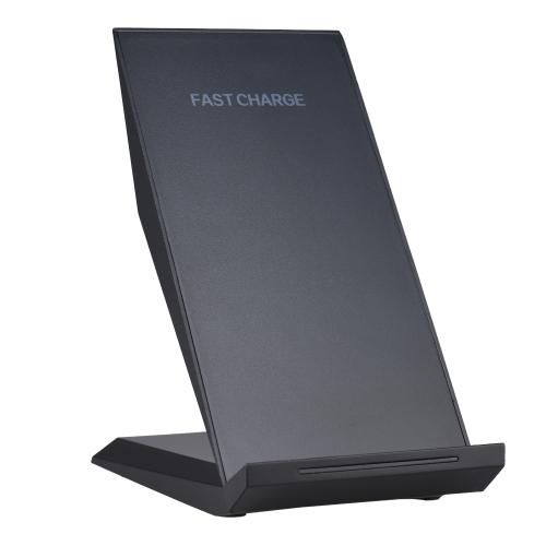 Image of Qi Schnelle Drahtlose Ladestation Doppel Spulen Telefon Wireless Charger Für iPhone 8 X Samsung Galaxy S8 Hinweis 8 Qi Aktivierte Geräte
