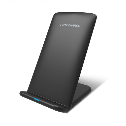 Qi Fast Wireless Charger Double Coils Phone Suporte de carregamento sem fio para iPhone 8 X Samsung Galaxy S8 Note 8 Qi Enabled Devices