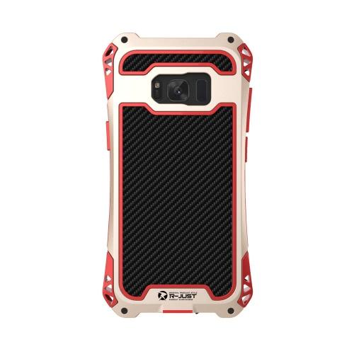 R-APENAS AMIRA Series Metal Tri-prova Phone Case para Samsung Galaxy S8 Plus