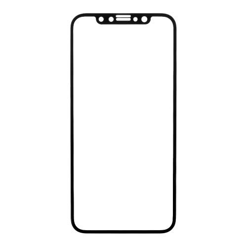 Ultra-fino e surpreendente 9H protetor de tela de vidro temperado filme protetor resistente a riscos anti-explosão para iPhone X Smartphone