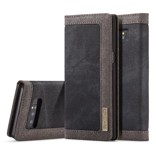 CaseMe 006 Flip Multifuncional Carteira Tampa de telefone protetora Capa de cartão para 6,3 polegadas Samsung Galaxy Note 8 Eco-friendly Stylish Portable Anti-scratch Anti-dust Durable