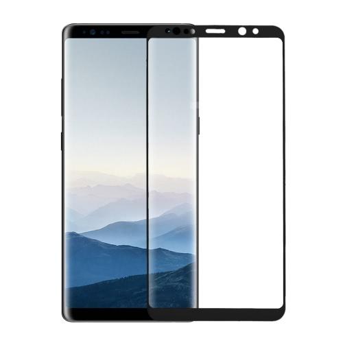 2.5D arc protecteur d'écran en verre trempé pour 6.3 pouces Samsung Galaxy Note 8 couverture complète du corps peau téléphone de protection film HD couverture anti-rayures anti-poussière durable