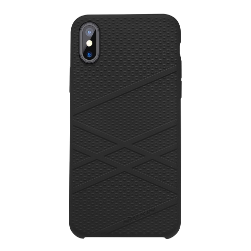 NILLKIN Flex Case Liquid Silicone Case For iPhone X Anti-scratch Anti-shock Anti-dirt Ultra Thin Phone Case For iPhone X