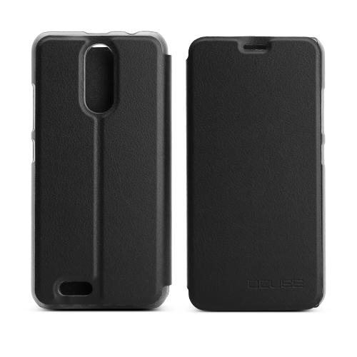 OCUBE Tampa de caixa de telefone de luxo para 5.5 polegadas OUKITEL C8 Soft PU Leather Protective Phone Shell Phone Stander Anti-choque Full-Protection