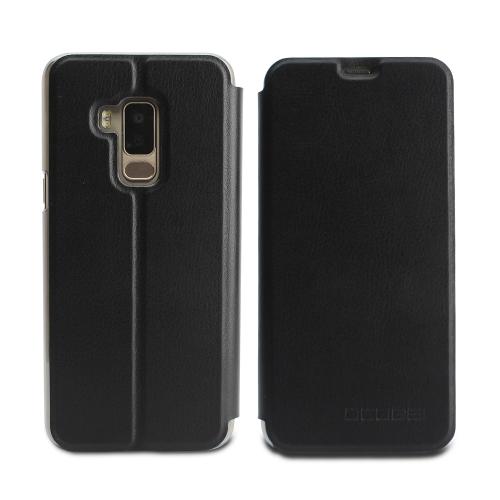 OCUBE Роскошный телефон Чехол для BLUBOO S8 Мягкая кожа PU Защитный телефон Shell Телефон Стойка Anti-shock Full-Protection
