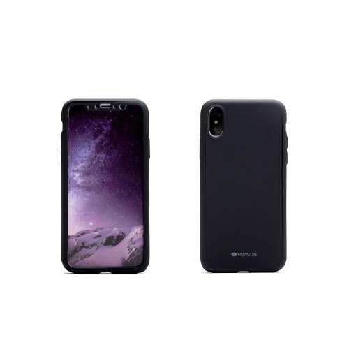 VORSON 360-градусный полный защитный чехол для телефона с защитной пленкой для iPhone X Устойчивость к царапинам Anti-dust Anti-shock