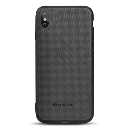 VORSON Bling Cas de téléphone pour iPhone X Protection pleine-ronde Durable Anti-rayures Résistance aux chocs téléphone Shell