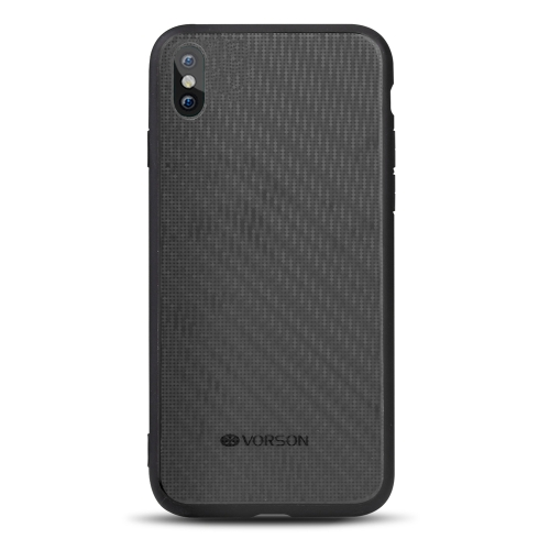 VORSON Bling caja del teléfono para iPhone X Full-round Protection Durable carcasa resistente al rayado del teléfono a prueba de golpes