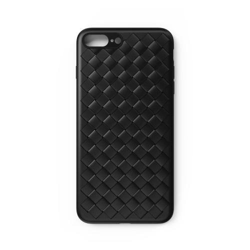 iPhone 7 8プラス編組換気フォンシェルのためのWSKENウィービング保護電話ケース耐久性のあるTPUカバー耐衝撃性スクラッチプルーフ