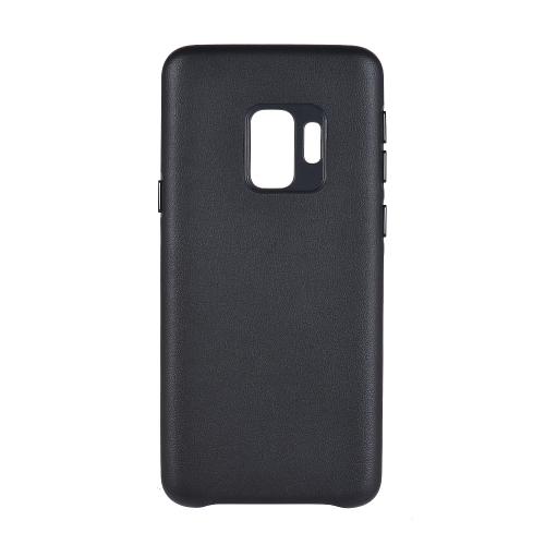 Cas de téléphone de protection pour Samsung Galaxy S9 de haute qualité en cuir PU téléphone Shell Absorption des chocs anti-rayures anti-poussière Couverture de téléphone