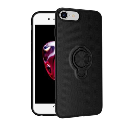 ICONFLANG Cassa del telefono del supporto dell'anello per il iPhone 7 una copertura posteriore del supporto del dito di Kickstand