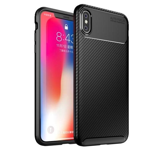 Обложка для iPhone XS Max Phone Case Защитная оболочка Slim Soft Прочный Anti-scratch Anti-отпечаток Anti-sweat Shock-resistance Phone Shell