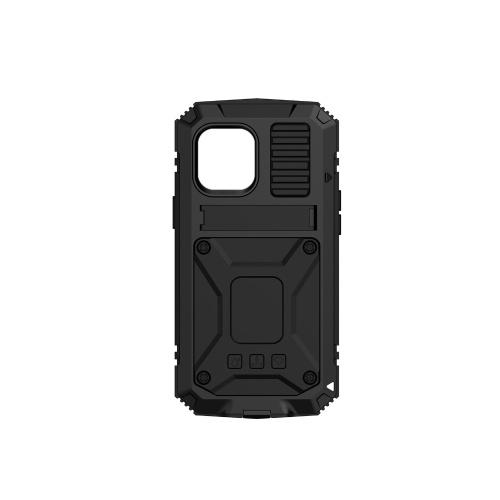 Hochleistungs-Telefonabdeckung Metallgehäuse Stoßfestes Anti-Drop-Handygehäuse Ersatz für iPhone 12 Pro