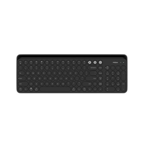 xiaomi miiiw wireless dual mode keyboard sales online black tomtop. Black Bedroom Furniture Sets. Home Design Ideas