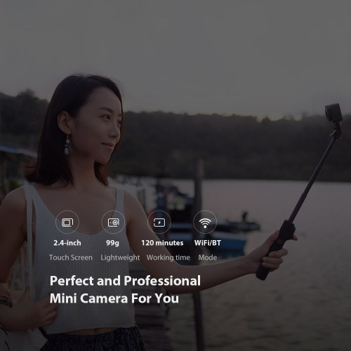 Global Version Xiaomi Mijia Camera Mini 4K 30fps Video Recording Action Camera