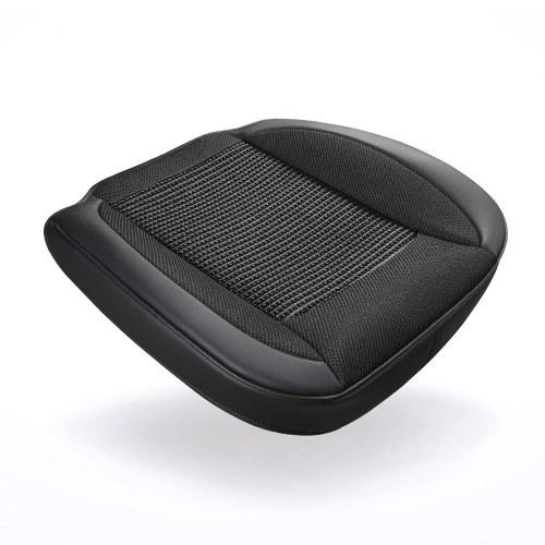 Xiaomi Youpin BOUNDS Autositzkissen Einzigartiges Sitzkissen aus Eisseidengewebe Sitzmatte Atmungsaktives universelles Sitzkissen Komfortables Fahrersitzpolster Universelles Auto-Innensitzschutzmattenpolster Rutschfester Sitzschutz für die meisten PKW-SUVs oder Lieferwagen für den Heimgebrauch 1St