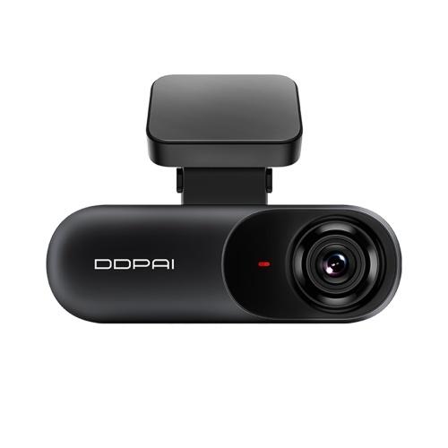 Version mondiale DDPAI Dash Cam mola N3 avec enregistreur de conduite GPS intégré Caméras montées au tableau de bord avec Super Night Vision 1600P Wi-Fi G-Sensor WDR Loop Recording Détection de mouvement Moniteur de stationnement Protection de la voiture Cadeaux pour les véhicules