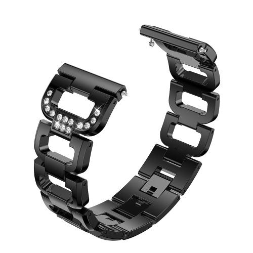 SDXHJ013 Watch Bracelet Fitbit Strap Stainless Steel Metal Link Bracelet