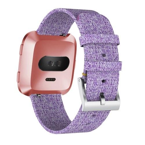 SDFB-001 Watch Band Fitbit Strap Woven Fabric Wrist Strap Replacement Wristband